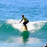 zavial right r star surfer dropping down algarve