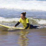 very ride on the wave Amado Carrapateira, surf school R STAR, Algarve