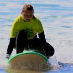 R STAR make the best lessons for beginners, first surf lesson of this student, Carrapateira, Algarve