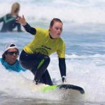 Surf coach using the skills for the surf pass quick forward his issues, the Coaching more then 15 years teaching surf, R Star surf school proudly the best from Carrapateira, Algarve southwest of Portugal