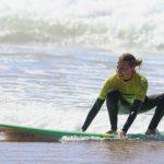 fun ride with R Star Surf school Carrapateira, Amado beach, Algarve