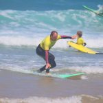 Learn how to have a fun ride with us, lessons easy to follow way. R Star surf school your surf school. Carrapateira Aljezur Algarve -Portugal