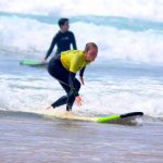 how to have fun rides on the waves? learn it and much more with R star surf school, Carrapateira, Algarve region, Portugal