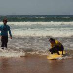 Stand up Carrapateira surf school, R star Amado beach, Algarve