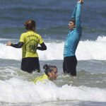 R Star surf school beginners first lessons body surf exercises, come and learn fast with us