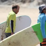 intermediate lessons at Amado beach, R Star surf school Carrapateira Algarve-Portugal