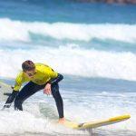R Star groms Shredding at Amado beach, Carrapateira surf school, Algarve southwest Alentejano and vicentine's coast of Portugal
