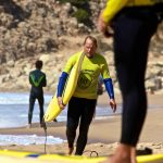 Zavial with R Star surf school, Algarve-Portugal