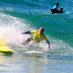 wipeout intermediate lesson riding awesome waves with R Star surf schoool, Algarve - Portugal