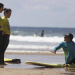 R Star surf school, super coaching, explanations tips and safety lessons packed with heaps of fun, your surf school