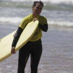 run ride the beginners at amado with a Carrapateira surf school, R STAR, the best surf lessons on the south of Portugal, Algarve