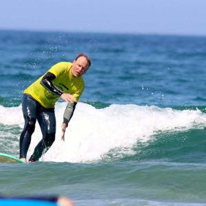 surf lesson of intermediates at amado algarve
