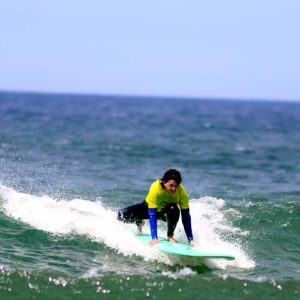 star drop wave at amado beach intermediate from r star surf school amado beach carrapateira