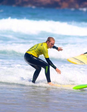 R Star surf school learn quick with our skilled exercises. Carrapateira surf school, Algarve in the southwest of Portugal the biggest natural park