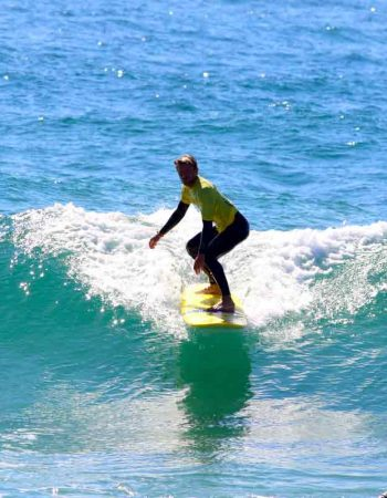 zavial right r star surfer dropping down algarve