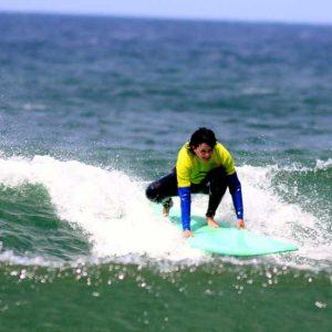 drop wave in amado the intermediate surfer